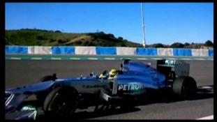 Mercedes launch new F1 car