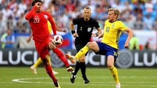 It's coming home! England beats Sweden 2-0 in World Cup quarter finals.