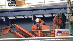 A railway bridge in Southend has been completed