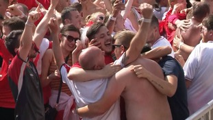 Watch: Wild celebrations as England reach World Cup semi-final