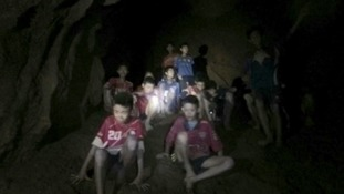 Thai rescue teams are attempting to bring out the boys from the cave.