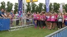 Police have moved to reassure Race for Life runners.