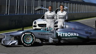 Mercedes says the aerodynamic design has been optimised around a new five-element front wing