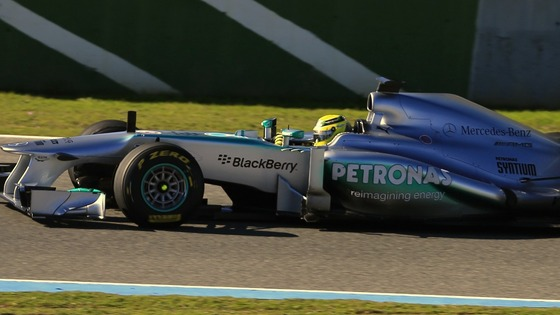 The car was unveiled at the Jerez racetrack in southern Spain