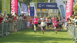 Runners set off on Cambridge's Race for Life.