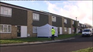 House in Holywell where a body was discovered