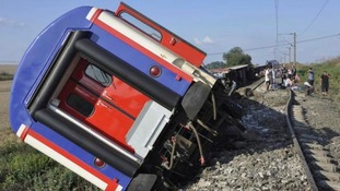 Turkey train derailment kills 24 and injures hundreds