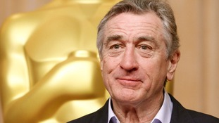 Robert De Niro arrives at the 85th Academy Awards nominees lunch in Beverly Hills.