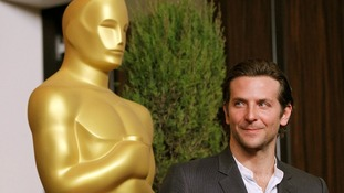Bradley Cooper, nominated for Best Actor, was one of many nominees who attended the event.