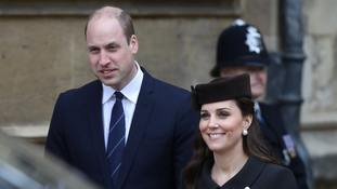 Friends and close aides tipped as Louis' godparents
