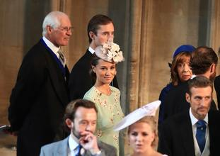 Pippa Matthews at Harry and Meghan's wedding