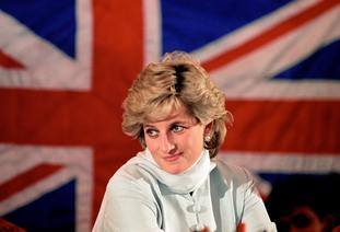 William's late mother Diana, Princess of Wales