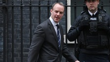 The new Brexit Secretary has been confirmed as Dominic Raab.
