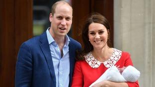 Prince Louis was born in April.