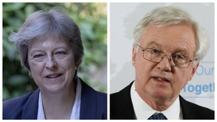 David Davis' resignation has left Theresa May facing a potential leadership crisis.