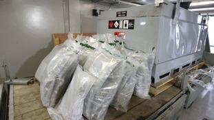 Ireland's largest cannabis seizure linked to European drug gang
