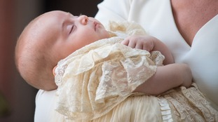 Prince Louis private christening