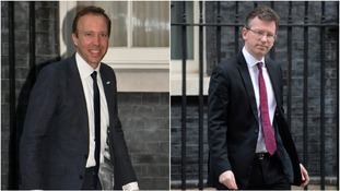 Matt Hancock and Jeremy Wright have been promoted in May's latest reshuffle