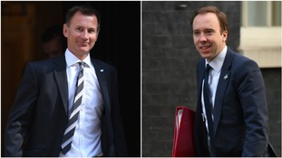 Jeremy Hunt replaces Johnson as Foreign Secretary with Matt Hancock taking over as Health Secretary