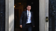 MP for South West Surrey Jeremy Hunt named as Foreign Secretary
