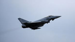 What is the Royal Air Force doing in Romania, and why?