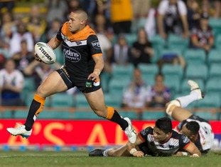 Lolohea joins the Rhinos from Wests Tigers