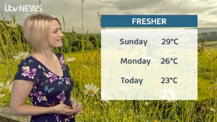 Here's Kerrie with Tuesday's weather update