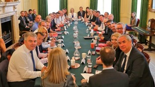The Cabinet held a meeting on Tuesday.