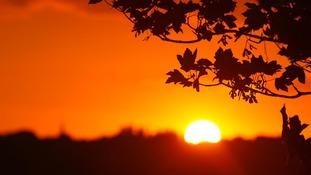 Summer sun in Preston