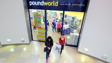 48 jobs will be lost when Poundworld closes stores in the Midlands this weekend