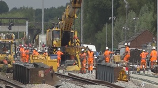 Disruption as Oxford rail line shuts for 2 wk upgrade