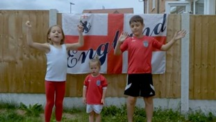Families and their children with Down's Syndrome score another winner with World Cup 'Three Lions' video