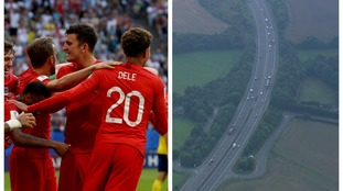 The roads are expected to be empty as people head to the pubs to watch the game.