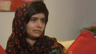 Malala Yousufzai spoke for the first time since the attack yesterday
