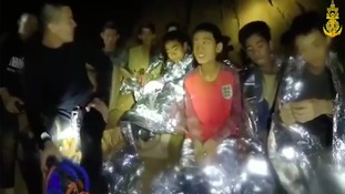 Thai boys in cave rescue