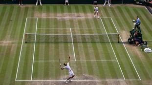 Men's singles final at Wimbledon