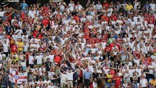 More England fans travelled to Russia as the tournament progressed.