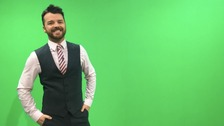 Tyne Tees Weather Presenter Ross Hutchinson