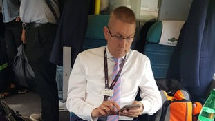 Rail company defends Southern executive taking up two first class seats on busy train