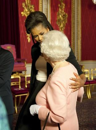 The Queen and Michelle Obama