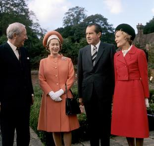 The Queen and Richard Nixon
