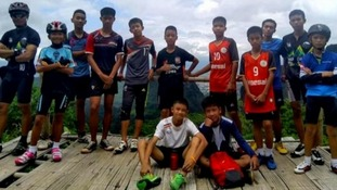 The boys went missing in the Luang Nang Non Cave.