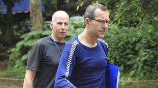 Richard Stanton and John Volanthen found the 12 Thai boys.