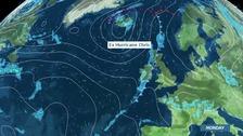 Hurricane Chris to bring rain to the UK next week