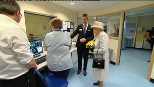 Royal opening for new scanner