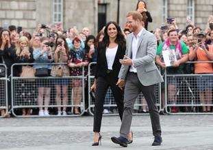 The Duke and Duchess at Trinity College