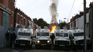 Police in east Belfast