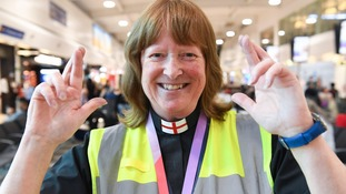 Luton Airport chaplain keeps fingers crossed for England victory