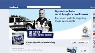 Cambridgeshire police facebook page