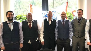 It's #WaistcoatWednesday for these NHS workers at North and South Norfolk Clinical Commissioning Group